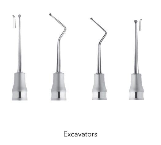 Endodontologie Excavators