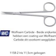 Iris gebogen wolfraam carbide