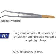 Anatomisch Pincet Meriam 16cm tungsten carbide