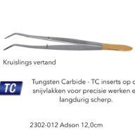Anatomisch Pincet Adson 12cm tungsten carbide