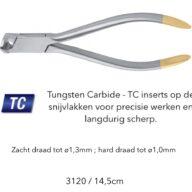 Orthodontische Tang