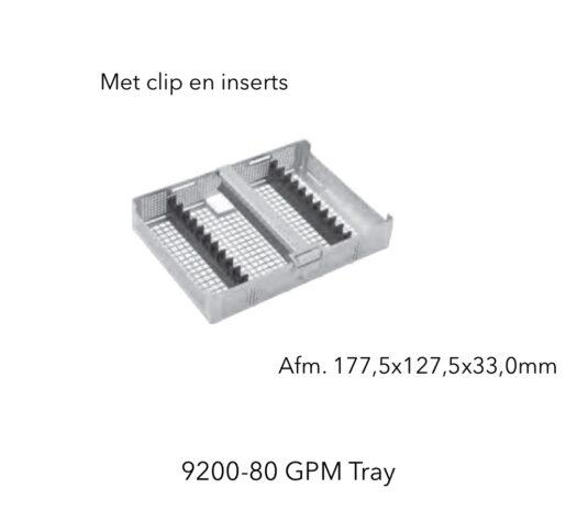 RVS Clip Tray