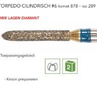 878 torpedo cilindrisch #6 3L