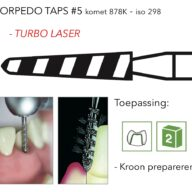 878K torpedo taps #5 turbo laser