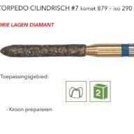 879 torpedo cilindrisch #7 3L